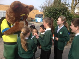 999 Ted at Fairoak School