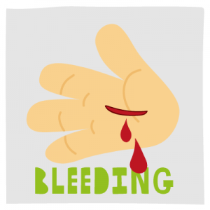Tips for dealing with bleeding - SCAS Kids Zone