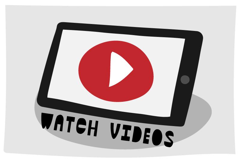 Watch helpful videos