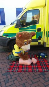 999 Ted performing CPR